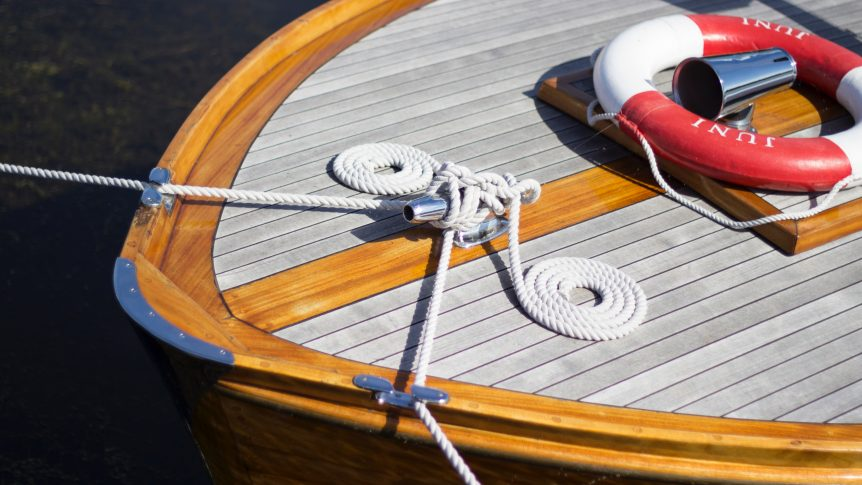 waterproof wooden boat
